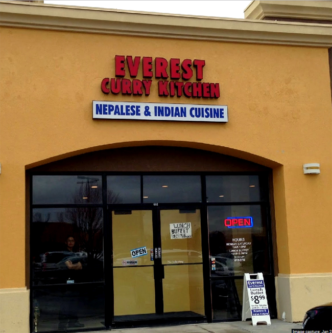 Everest Indian Food Sandy Utah